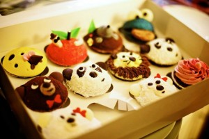 Cupcakes sponsored by Was Das Herz Begehrt