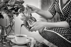 Tee trinken Isabel Lenuck